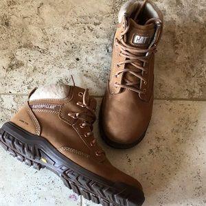 Caterpillar steel toe boot